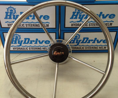 HyDrive Stainless Steel Steering Wheel
