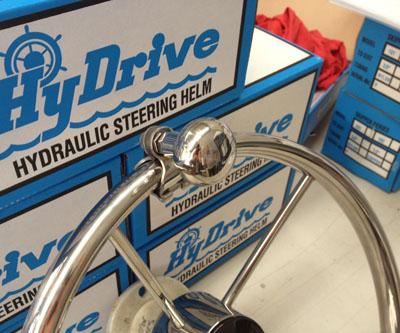 HyDrive Stainless Steel Steering Knob